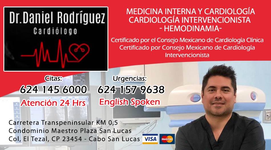 Dr Daniel Rodriguez Cardiologo