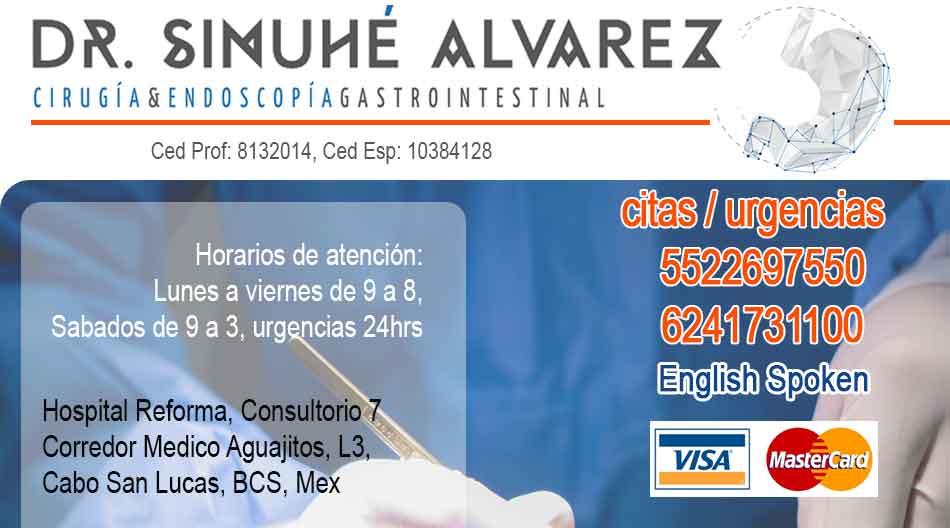Dr Sinuhe Alvarez Medico Cirujano