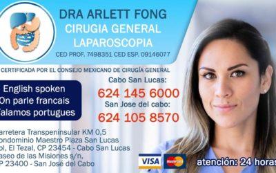 Dra Arlett Fong Cirugia General