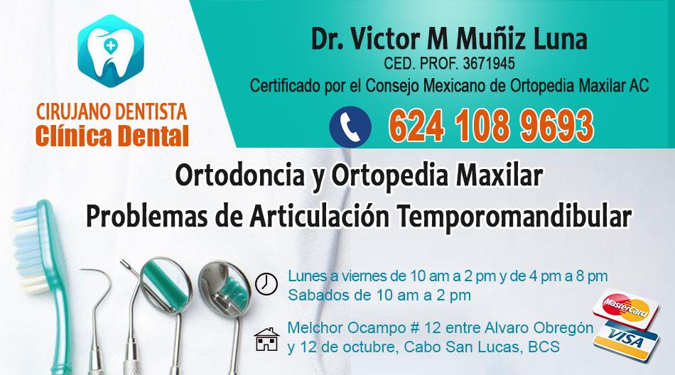 Dr Victor Muniz Luna Cirujano Dentista